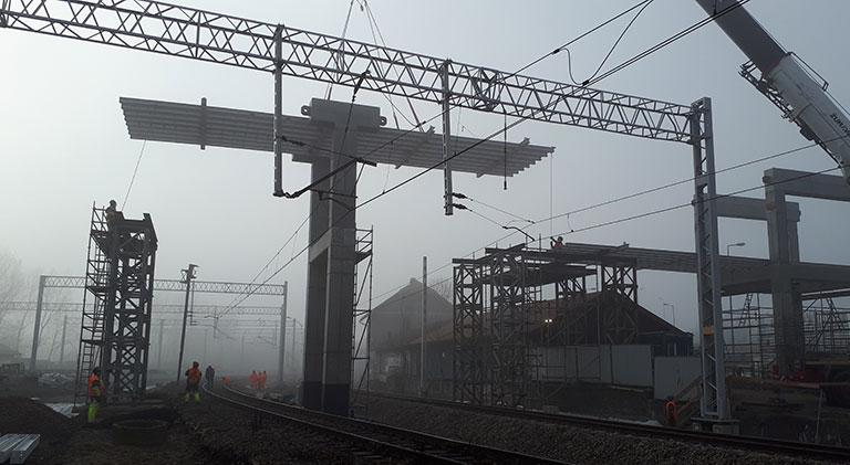 Kładka dla pieszych – stacja Bonarka, Kraków