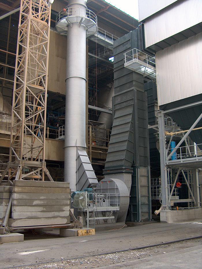 Filtr workowy, Vieger Cement Reuchenette, Szwajcaria
