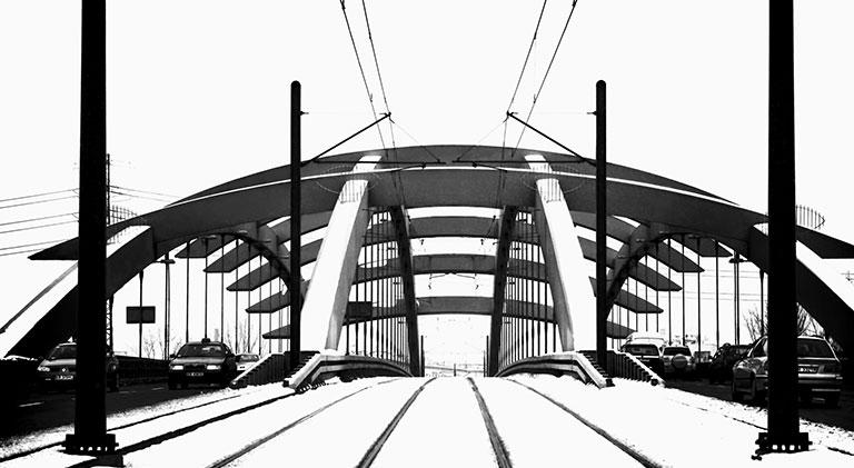 Most Kotlarski przez rzekę Wisłę, Kraków