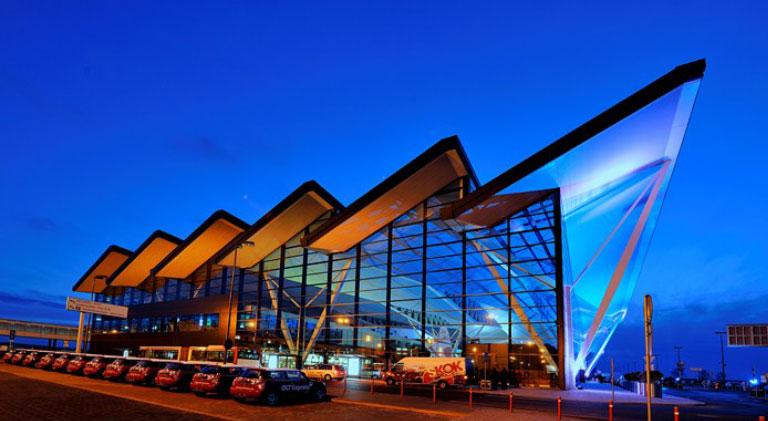 Terminal lotniczy im. Lecha Wałęsy, Gdańsk