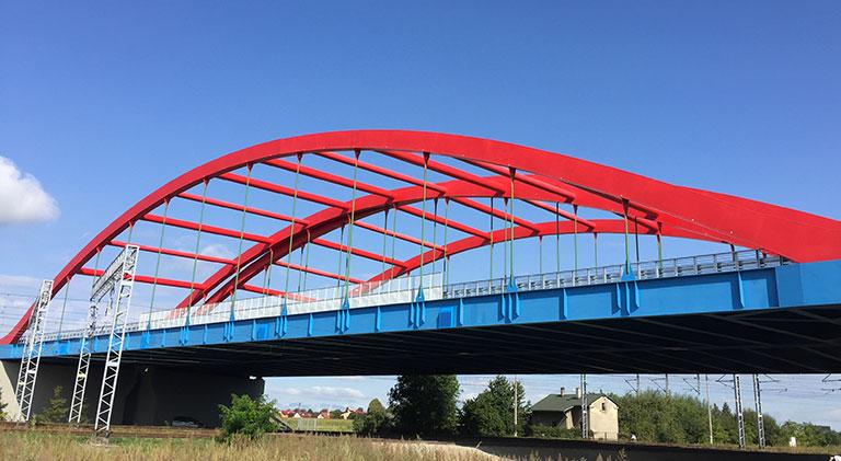 Obiekty mostowe na odcinku autostrady A4, Przeworsk