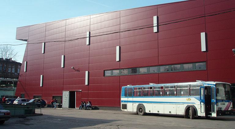 Hala lodowiska MKS Cracovia, Kraków