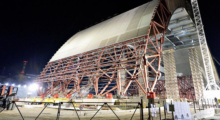 Kopuła zabezpieczająca reaktor, Czarnobyl