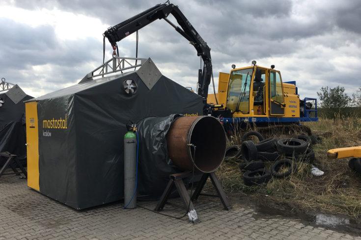 Gazociąg Twaróg – Tworzeń