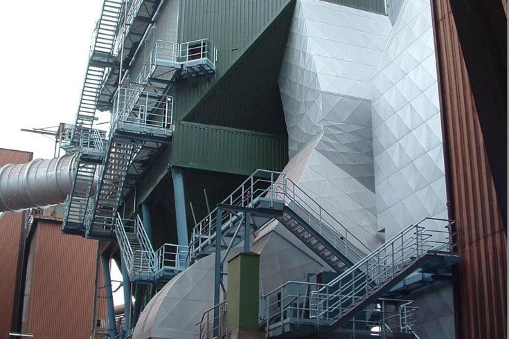 Instalacja odpopielania, Duisburg